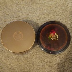 The Body Shop Brush on Radiance Powder and Bronzer